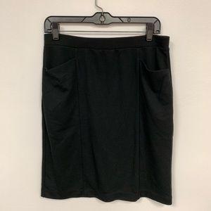 Anne Klien Black Skirt with pockets